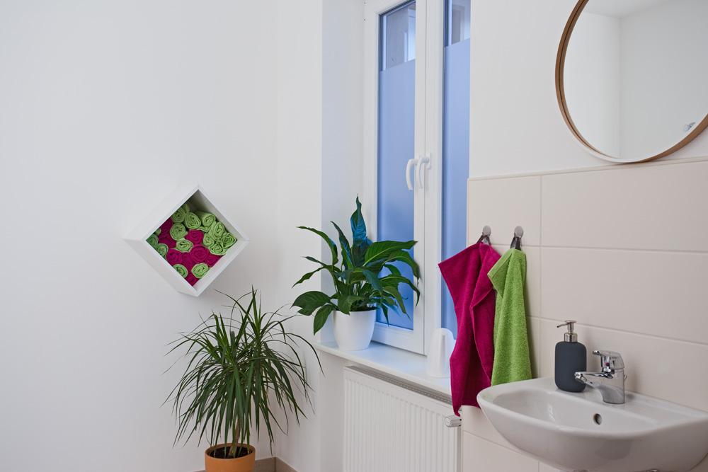 Toilette im Zentrum für Logopädie in Ottweiler
