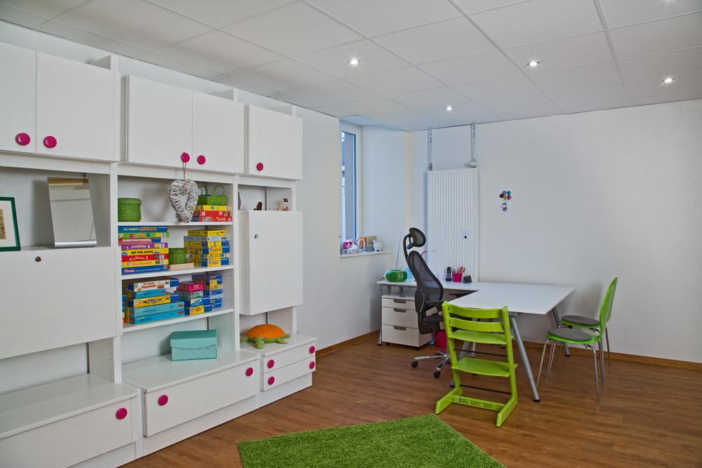 Behandlungszimmer im Zentrum für Logopädie in Ottweiler